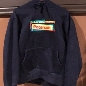 Paterson Embroidered Hoody Sz Medium